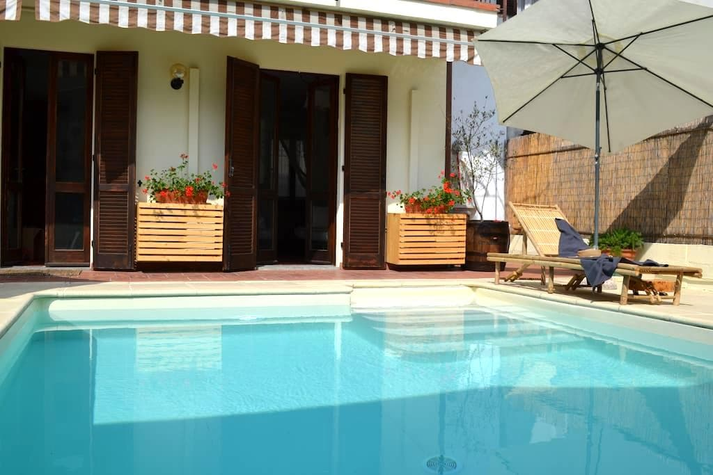 Casa Mafalda - Lovely house with swimming pool - Dormelletto - Casa