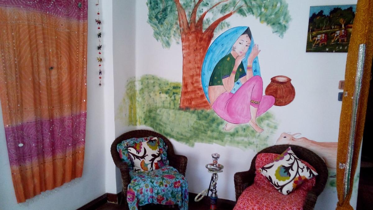 Quiet Apartment/Room In Cairo