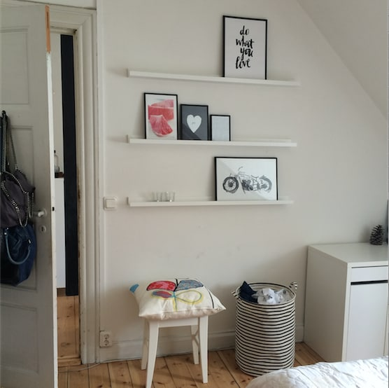 Charming two room appartement
