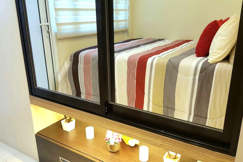 Cozy&Modern 1BRw/BALCONY+wifi&cable - Quezon City  - Lejlighed