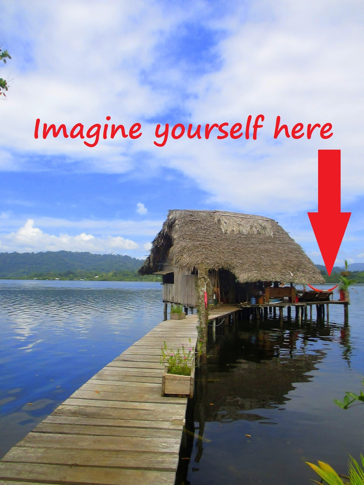 Imagine yourself here... can you?