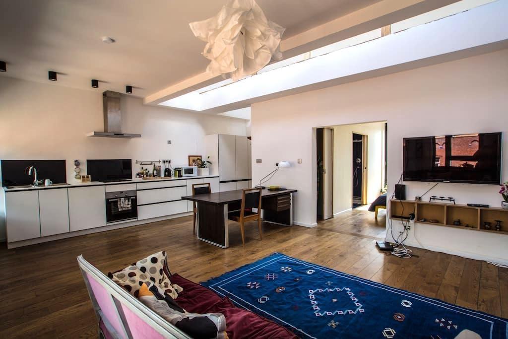 Lumineux, spacieux et central! - Bruxelles - Appartement