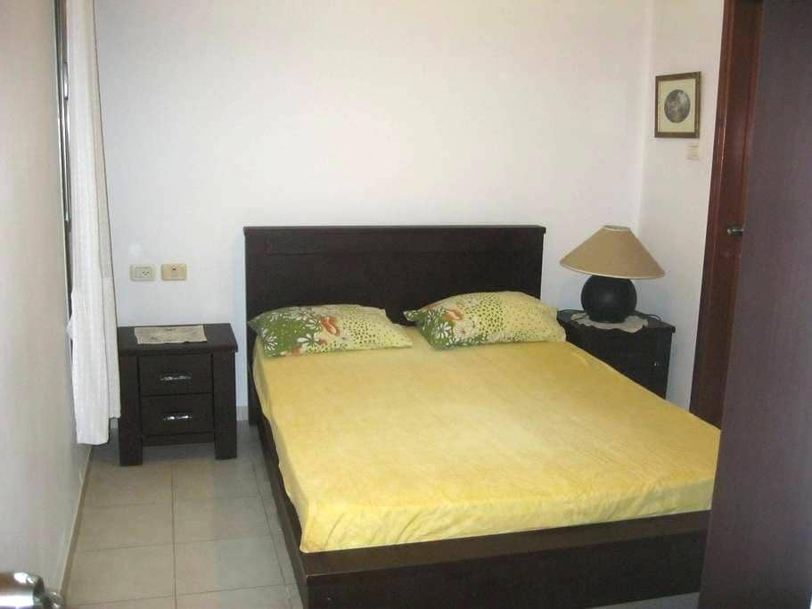 nice and cozy room with private bathroom+s.balcony - Netanya - Apartament
