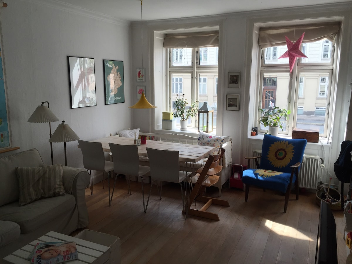 Cosy flat in centre of Copenhagen
