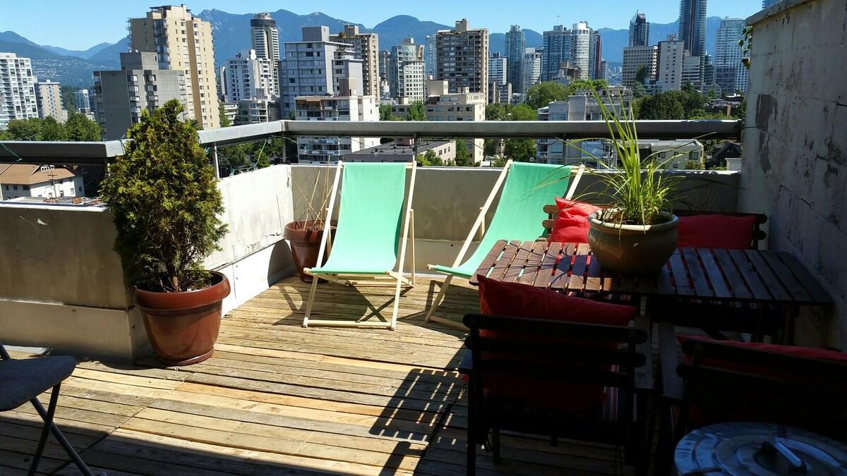 Ocean View Penthouse +300sqft Patio