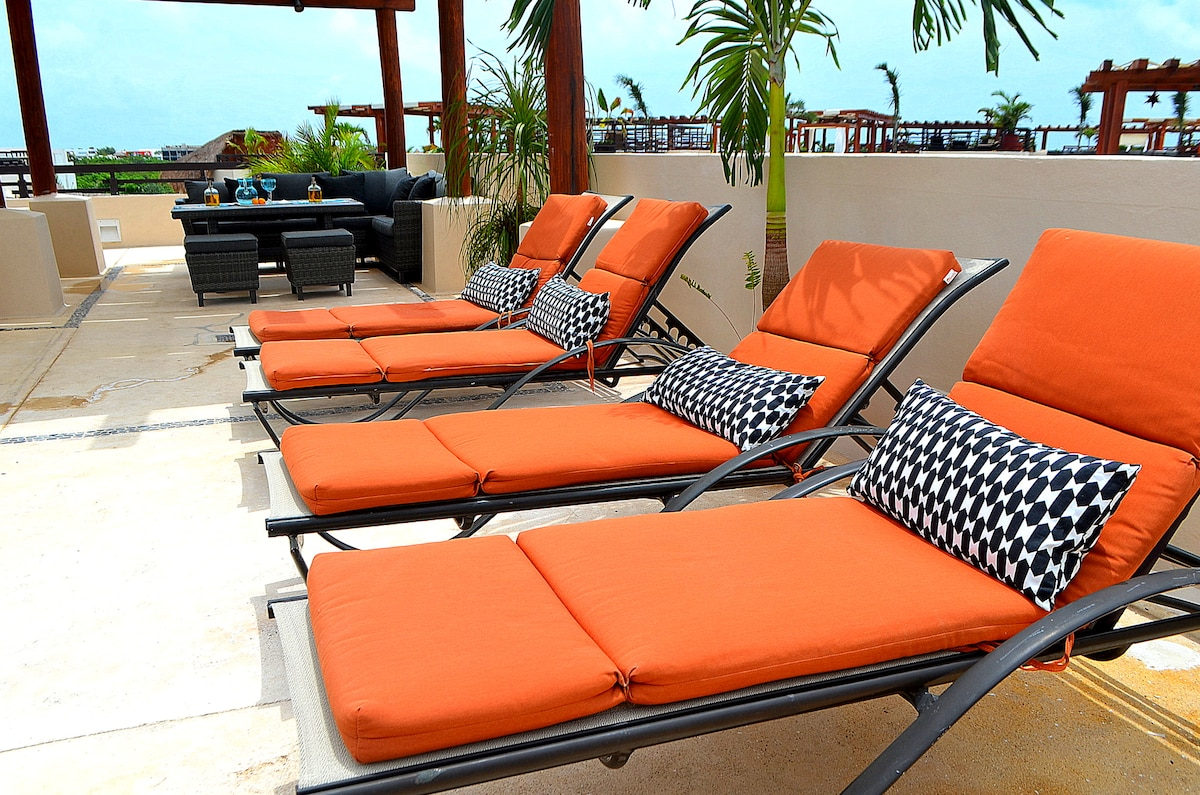 Sun Tanning Area on your Private Rooftop