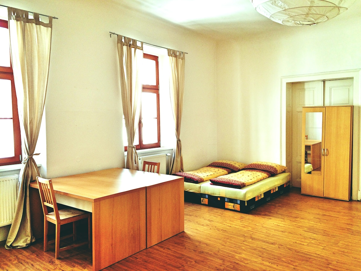 Spacious room in the centre