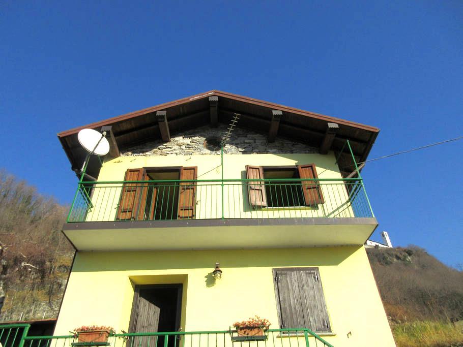 Casa a 200 mt dalla spiaggia Sorico - Sorico - Casa