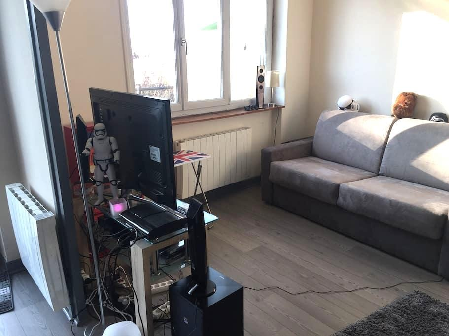 Appartement de 24m2 idéal voyageurs - Pont-d'Ain - Wohnung