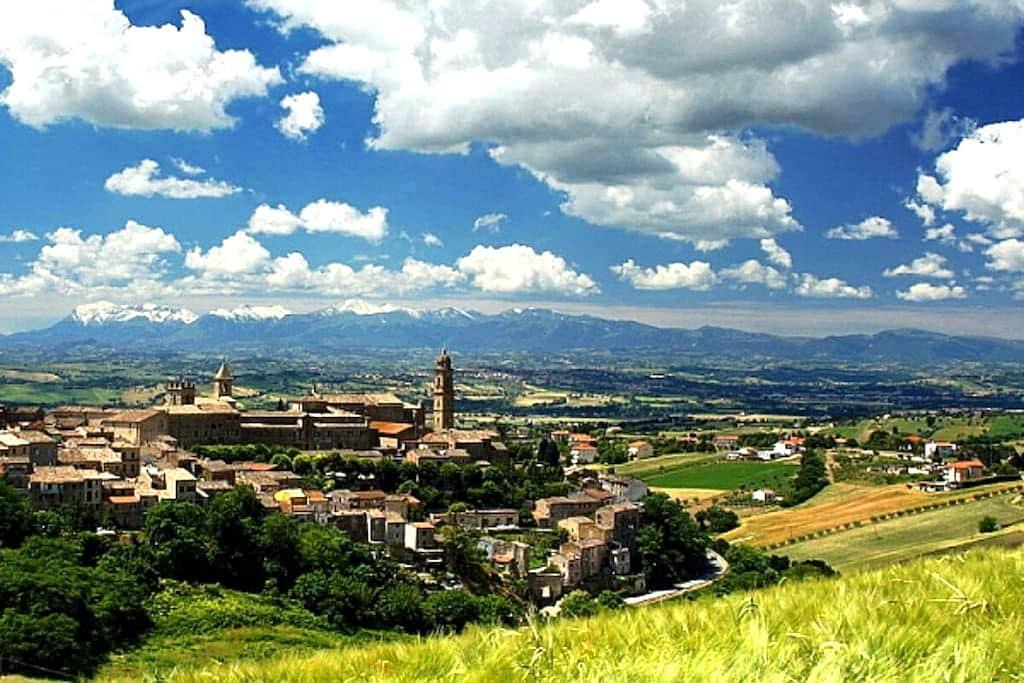 Confortable flat on MARCHE hills - Borgo Pintura - Apartment