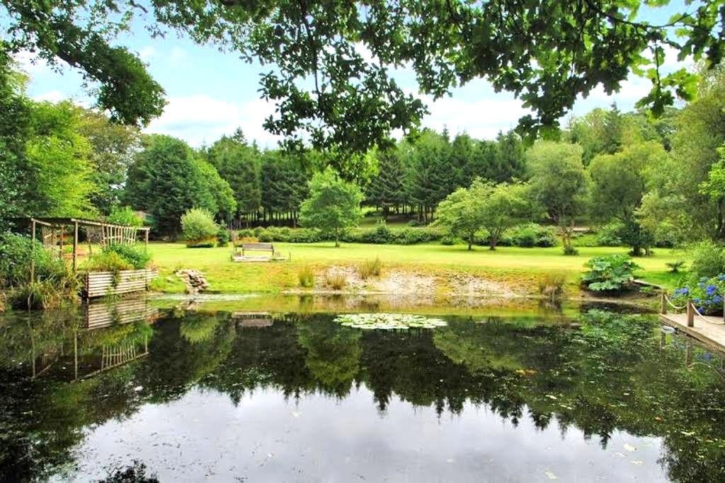 Millpool Lodge peaceful haven Cardinham Cornwall - Cardinham