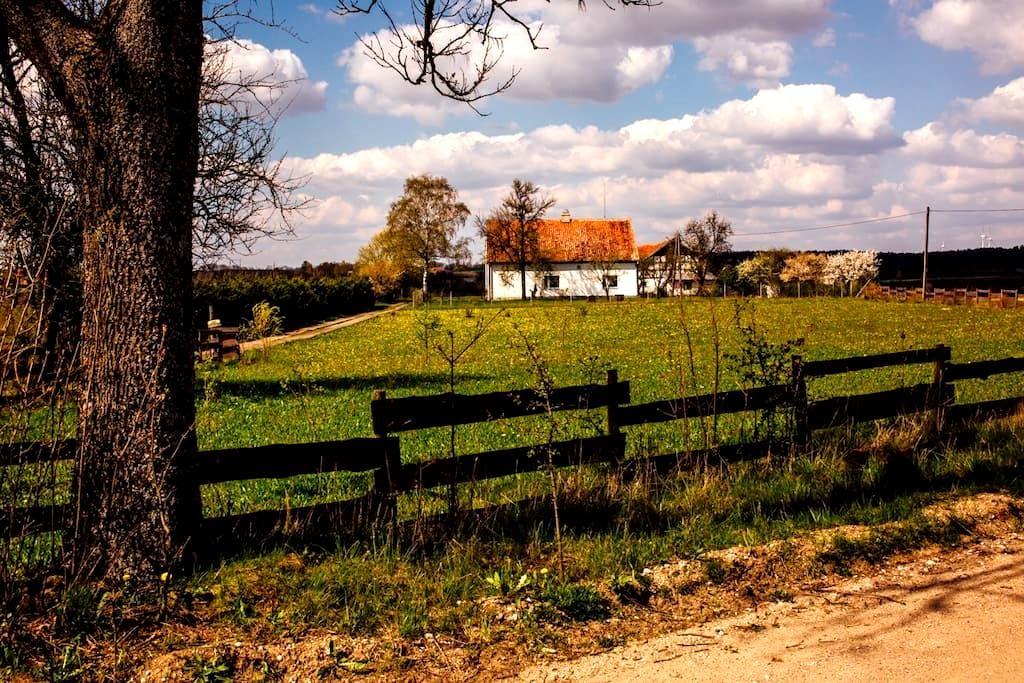 Klimatyczny dom na Warmii z ogrodem - Reszel - Maison