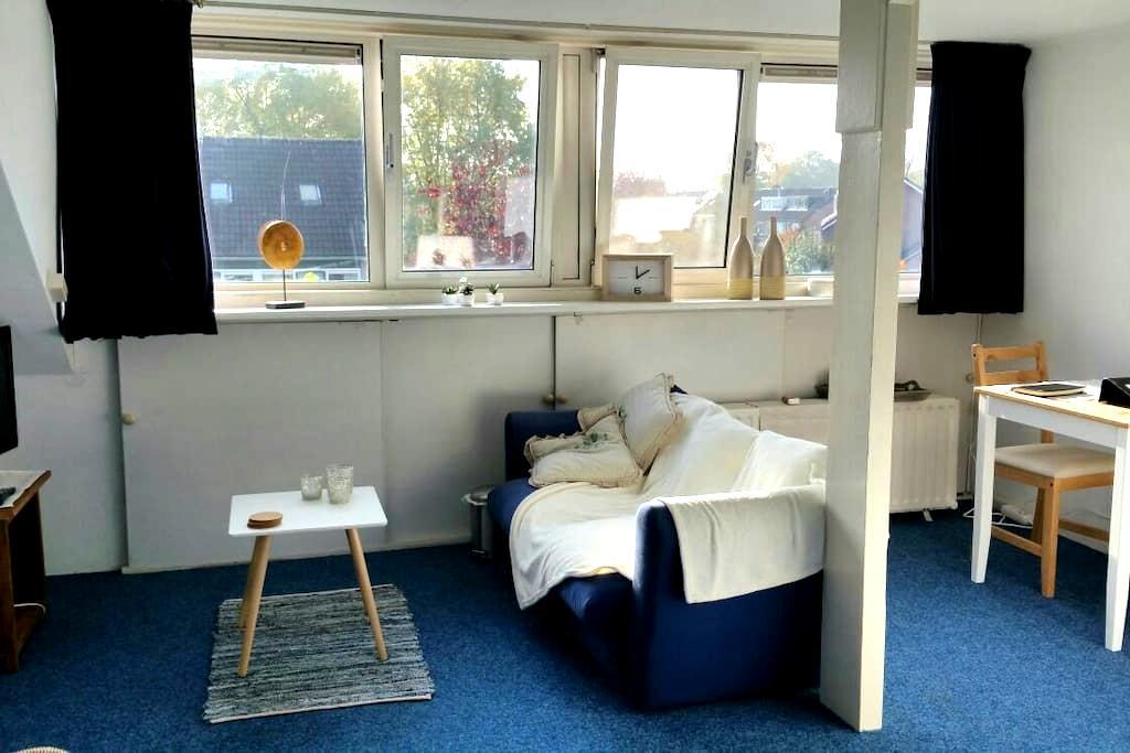 Ruime woonkamer op 2e verdieping - Veenendaal - Casa