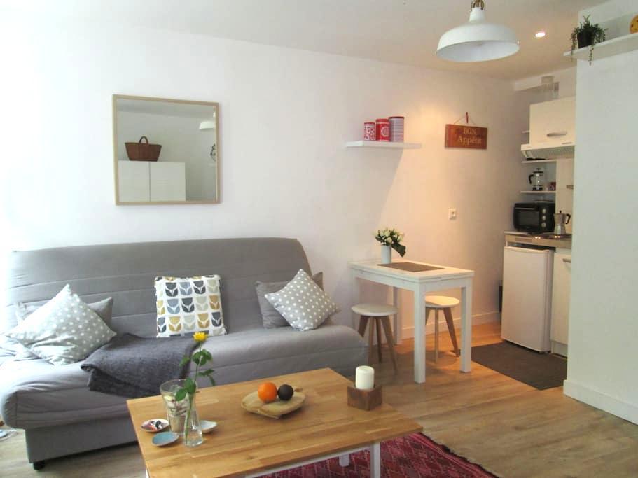 Beau studio ensoleillé en centre ville (+ 2 vélos) - La Rochelle - Daire