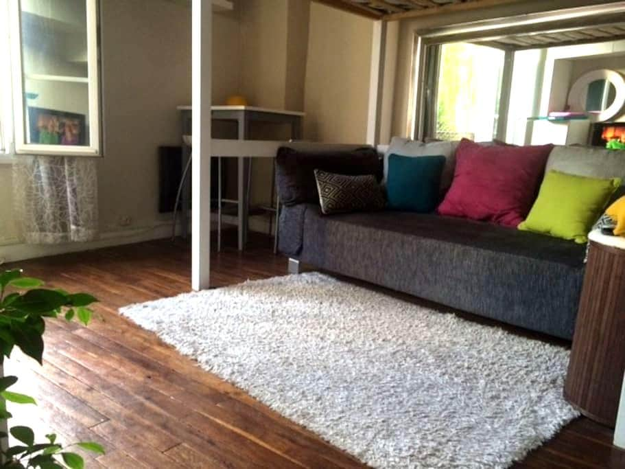 LOCATION STUDIO TOUT CONFORT  20 M2 - Saint-Cloud - Flat