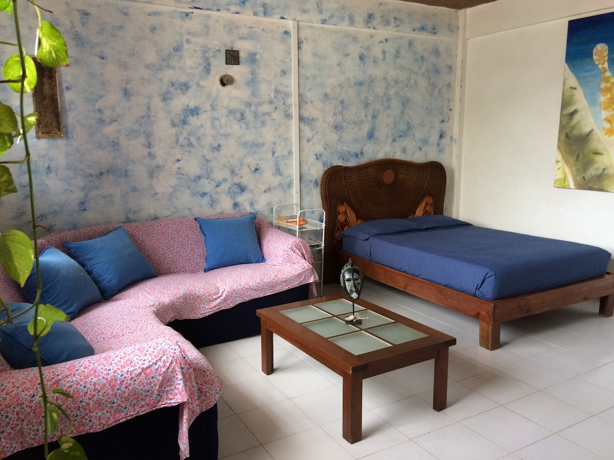 Cozy Studio 200m near the beach!!