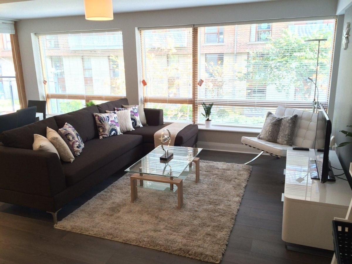 Beautiful modern flat with balcony