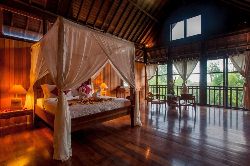 Charming Rooftop Suite in Ubud City