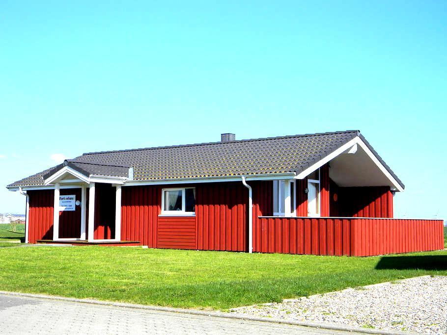 Scandinavian wooden house North Sea - Wesselburenerkoog - Huis
