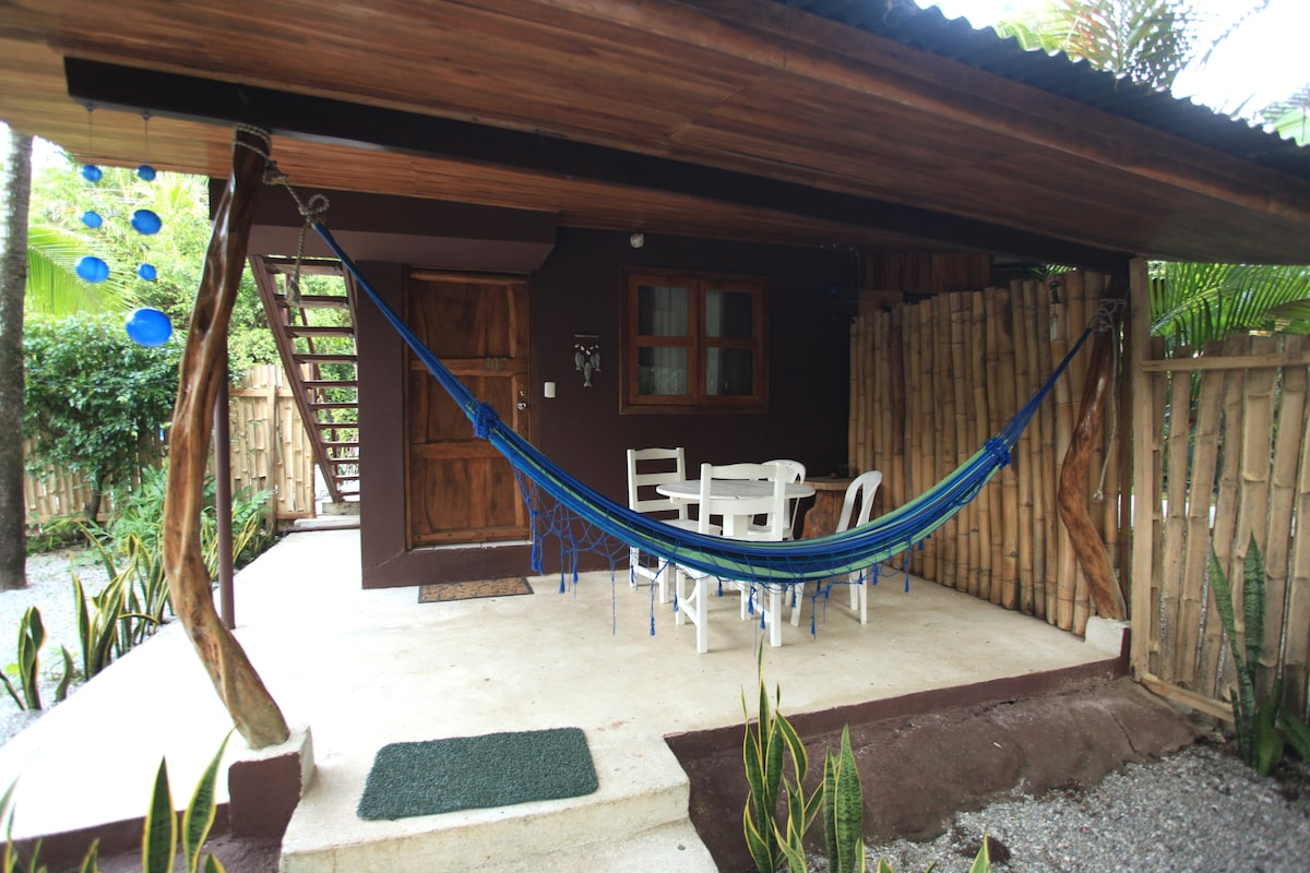 Mango room ground floor on a beach front property 2 min walk from the beach