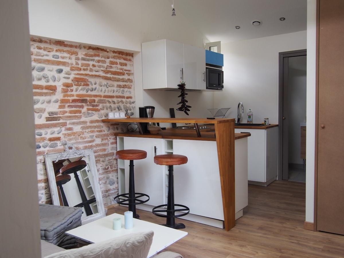 Charmant appartement à St Cyprien