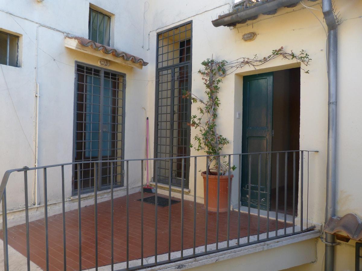 Mansarda Centro Storico Tuscania
