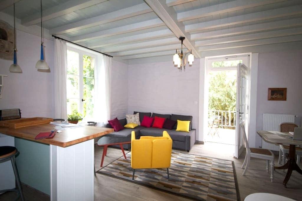 MOULIN DE MERZÉ, Le Martin-Pêcheur - Cluny - Apartment