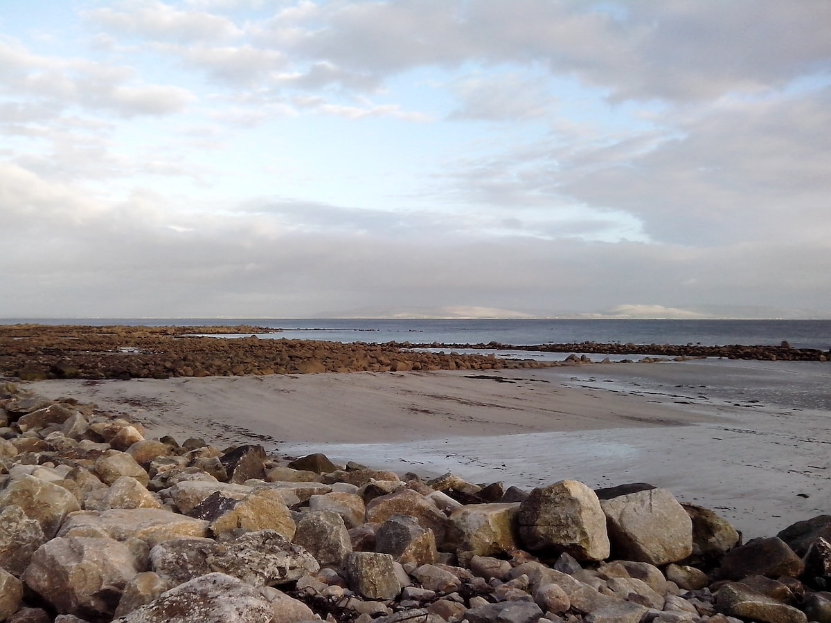 Detached house views of Galway Bay