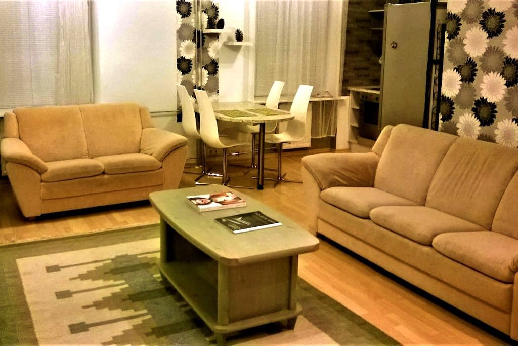 Nice Central 61m Apartment - Tallinn - Appartement