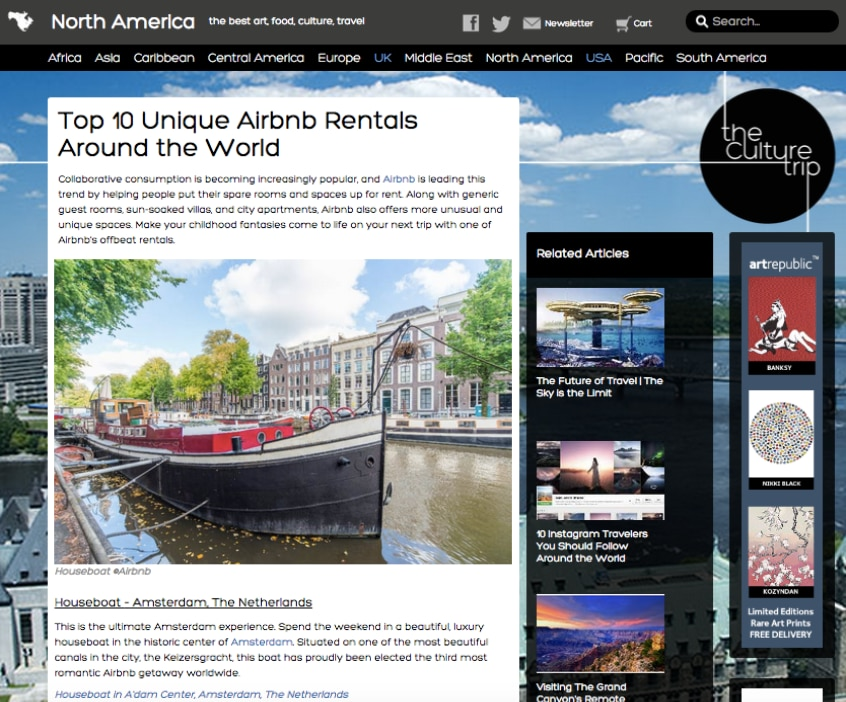 In the list of 10 most unique Airbnb rentals worldwide
