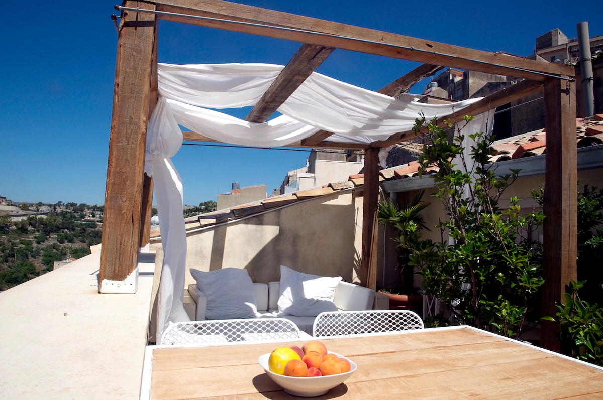 Enchanting Terrace with View