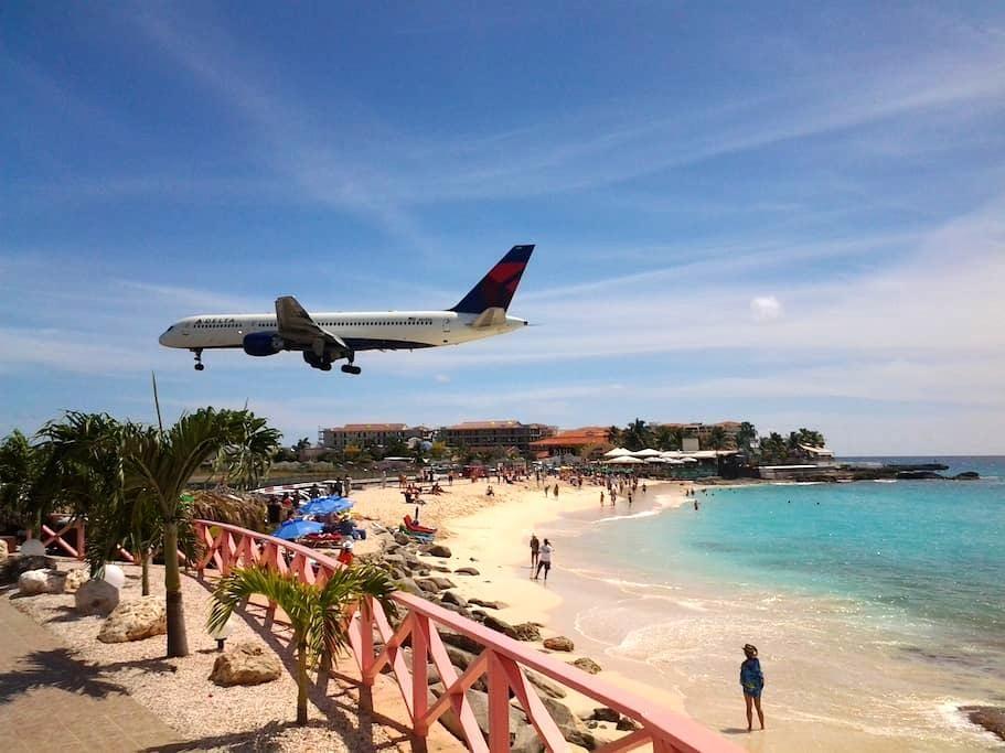 GORGEOUS OCEAN & TROPICAL GARDEN VIEW STUDIO+MORE! - Sint Maarten