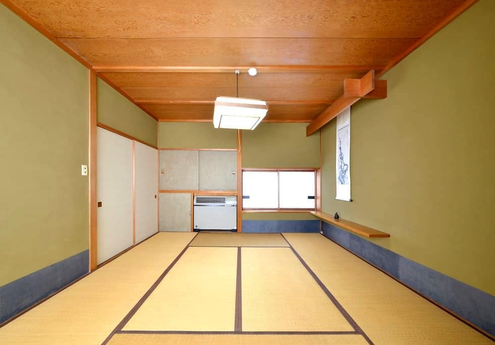 [Traditional Japanese Style Room 2] ZEN Hostel - Yamanouchi - Gästhus