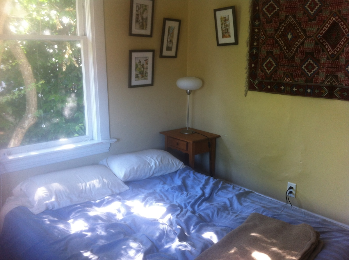 Bright room in Cook St Village
