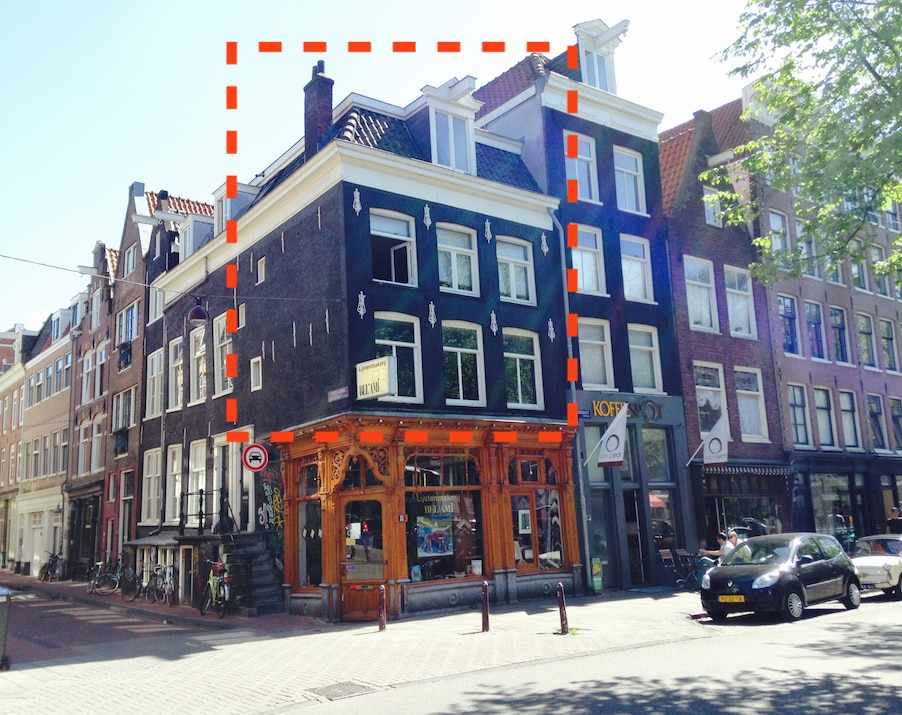 Typical Amsterdam house (Centre!)