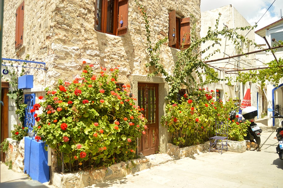 321-Bodrum 2+1 Stone House