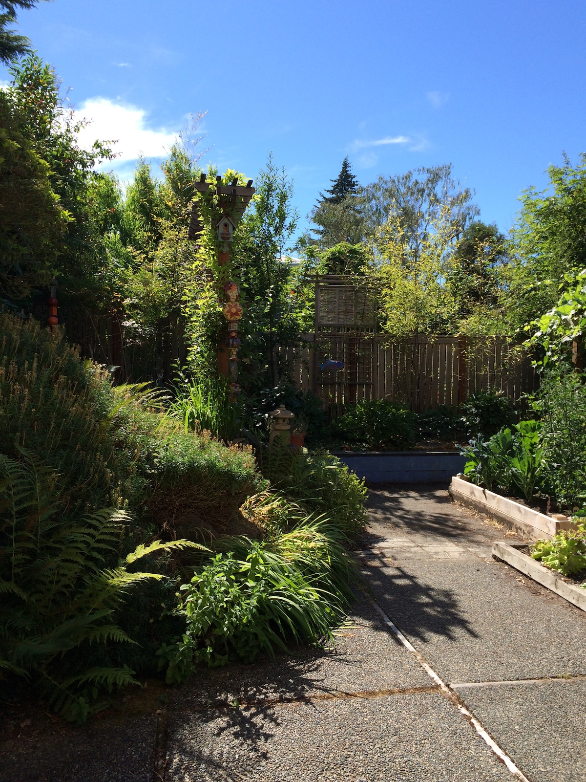 Garden View with Private Entrance