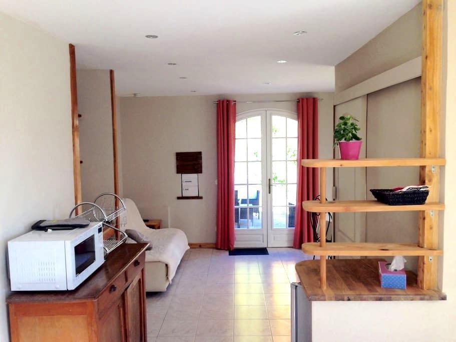 Studio cosy proche de Nice, Spa - Tourrette-Levens - Byt
