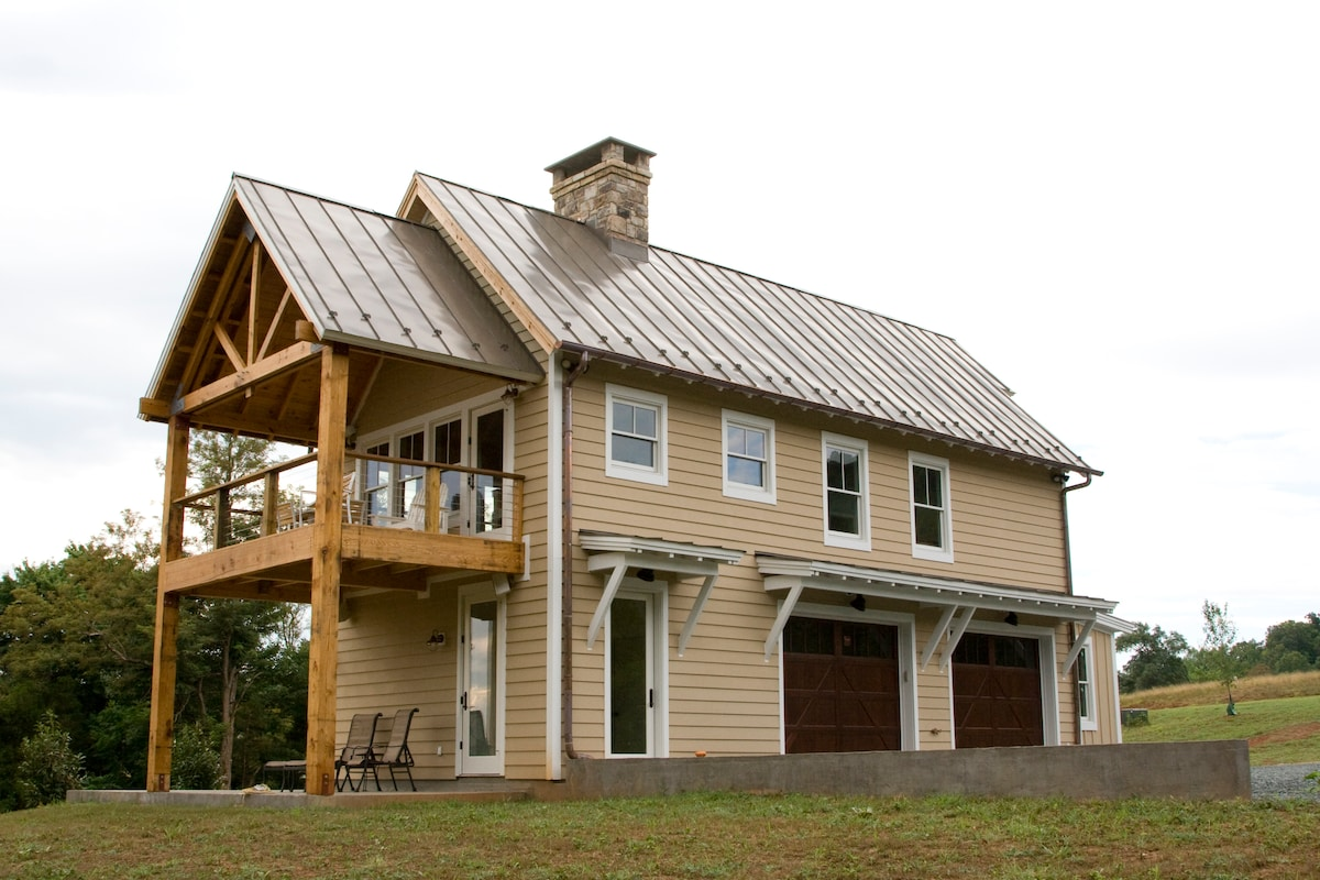 Charlottesville Cottage-2 king beds