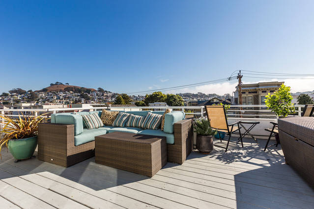 Spacious and Sunny Noe Valley Gem!