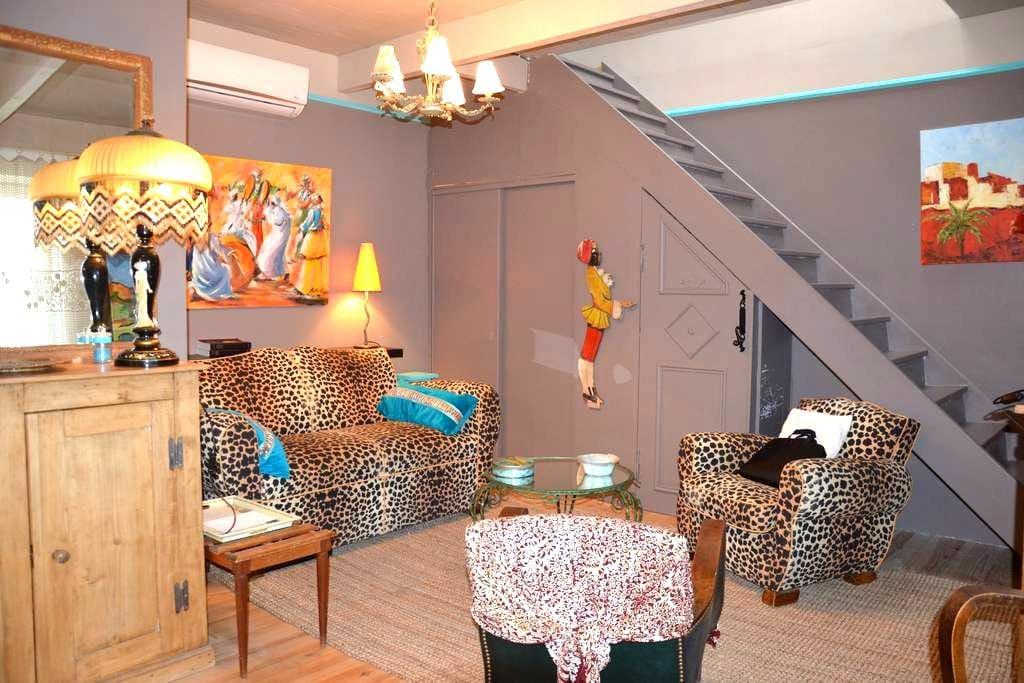 Belle maison de village atypique - Camaret-sur-Aigues - 一軒家