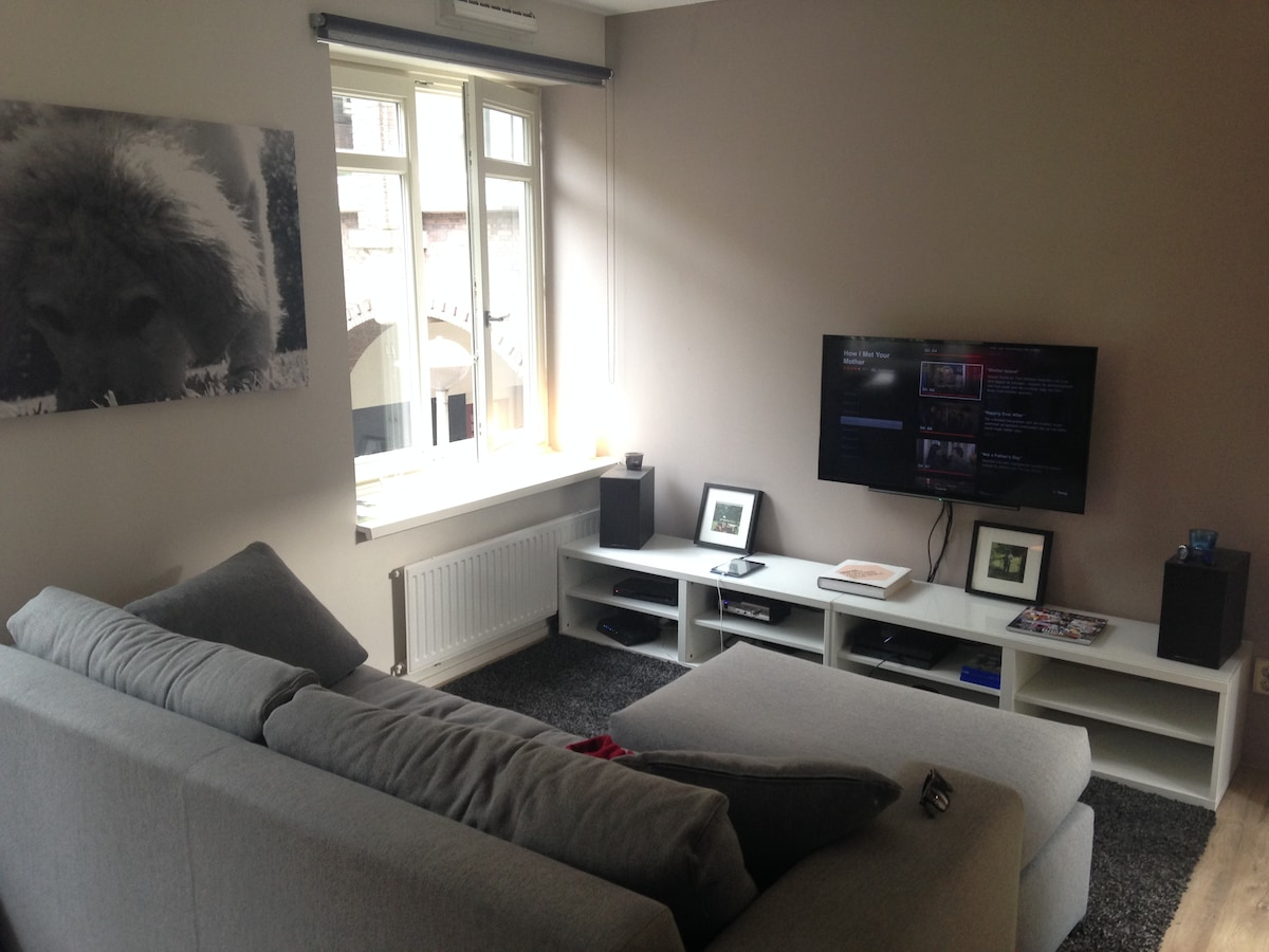 Spaceous apartment in Oud Zuid