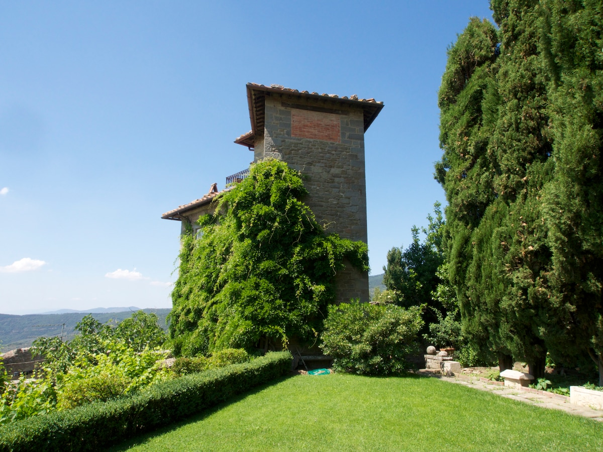 Lovely tower-house with great view
