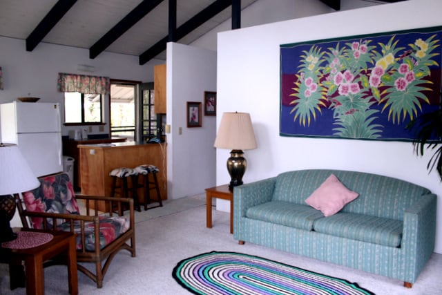 Decorated in Polynesian comfort