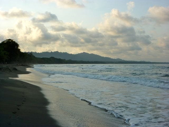 Playa Negra / Black Beach: a 3 minute walk from Hidden Jungle Beach House
