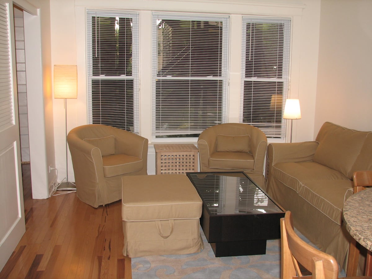 Old Town furnished 1 br + parking