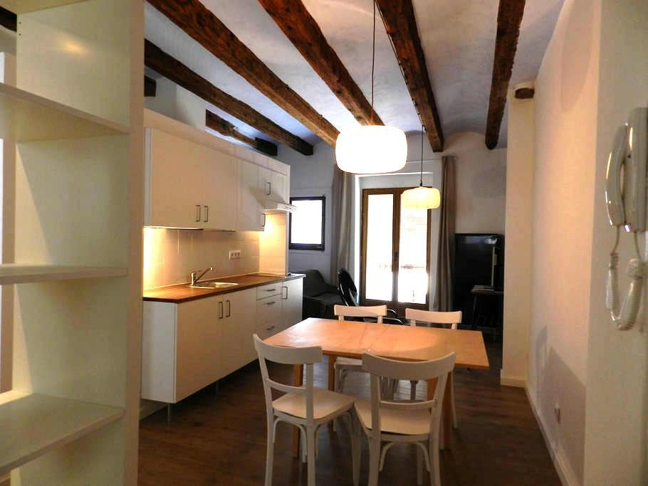 Flat#2 Renovated ancient town house - Talarn,Lleida - 아파트