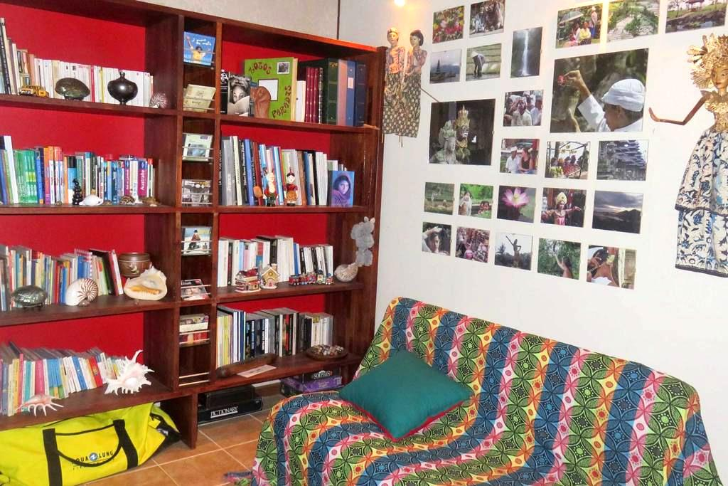 chambre dans villa près de la rivière Dumbéa - La Couvelle