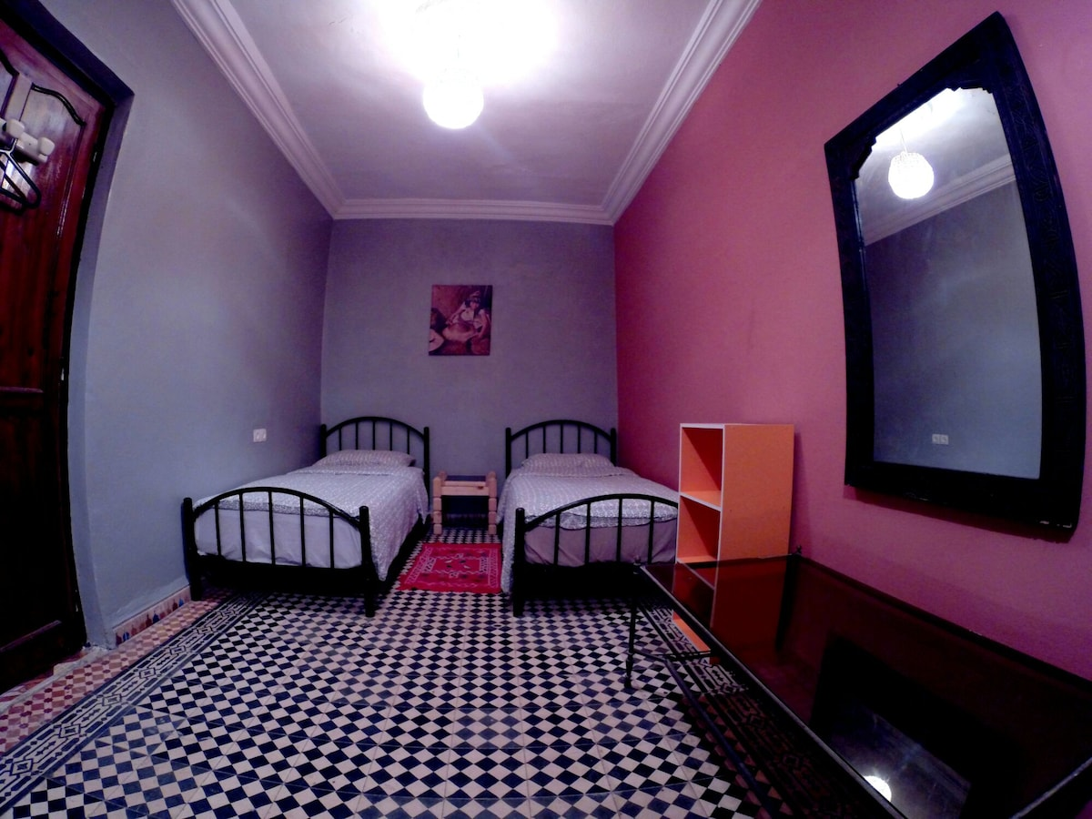 guadruple room at relaxing house