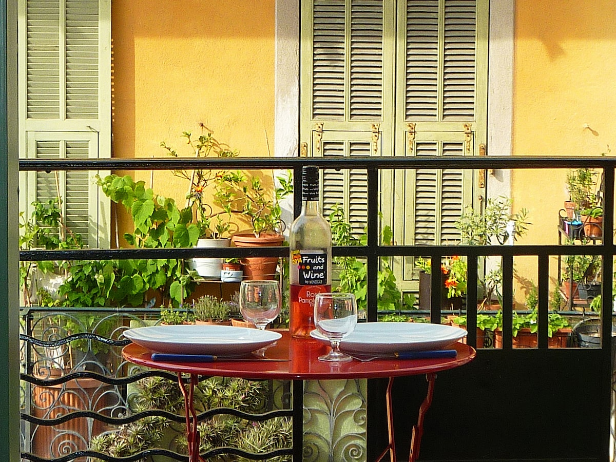 Nice Center: balcony, beach at 5''